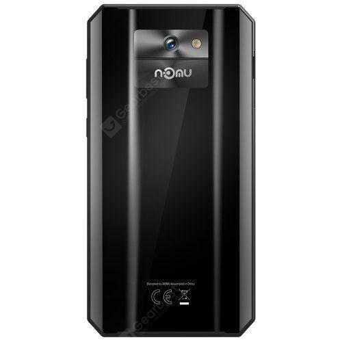 EU ECO Raktár - NOMU M6 4G Okostelefon 2GB RAM 16GB ROM 5.0 inch Android 7.0 MTK6737VWT Quad Core 1.5GHz 8.0MP előlapi Camera - Fekete