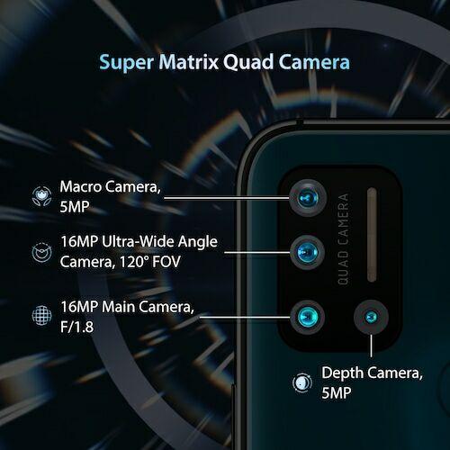 EU ECO Raktár - Umidigi A7 Pro Quad Camera Andriod 10 OS 6.3 inch FHD+ 4GB RAM 128GB ROM - Fekete