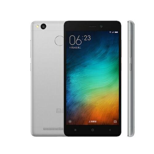 EU ECO Raktár - Xiaomi Redmi 3s Dual SIM 5.0 inches Android 6.0.1 Octa-core 1.4 GHz 4100mAh Okostelefon 3GB RAM 32GB ROM - Szürke