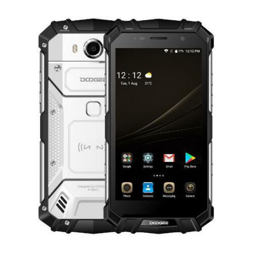 EU ECO Raktár - DOOGEE S60 5.2 inch FHD IP68 Vízálló NFC 5580mAh 6GB RAM 64GB ROM Helio P25 Octa Core 4G Okostelefon - Fekete