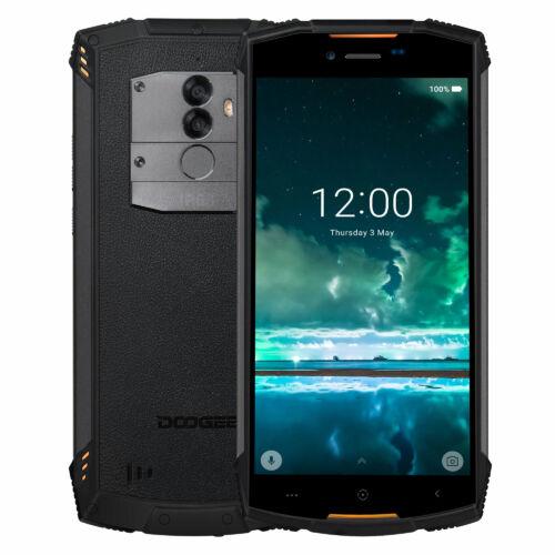 EU ECO Raktár - DOOGEE S55 5.5 inch IP68 Vízálló Android 8.0 4GB RAM 64GB ROM MTK6750T Octa Core 5500mAh 4G Okostelefon - Fekete