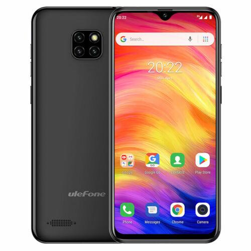 EU ECO Raktár - Ulefone Note 7 6.1 inch 1GB RAM 16GB ROM MT6580A Quad core 3G Okostelefon - Fekete
