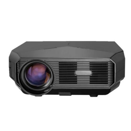 EU ECO Raktár - BROOK A4300 3200 Lumens 3000:1 1280*720P HD LCD Projektor - Fekete