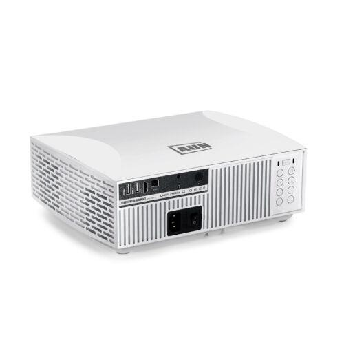 EU ECO Raktár - AUN F30UP Full HD Projektor 1920x1080P 6500 Lumen Android 6.0 2GB RAM + 16GB ROM WIFI MINI LED - Fehér