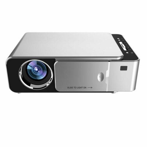 EU ECO Raktár - TOPRECIS T6 LCD Projector 1280 x 720P HD 3500 Lumens Mini LED 3D Otthoni Házimozi Projektor - Ezüst