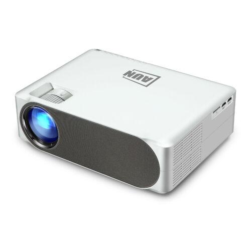 EU ECO Raktár - AUN AKEY6 Full HD 1080P 6800 Lumen LED Projektor Beépített Multimédia Lejátszóval - Fehér