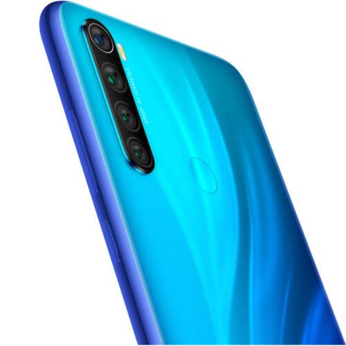 EU ECO Raktár - Xiaomi Redmi Note 8 6.3 inch 48MP Quad Camera 4GB RAM 64GB ROM 4000mAh Snapdragon 665 Octa core 4G Okostelefon - Kék