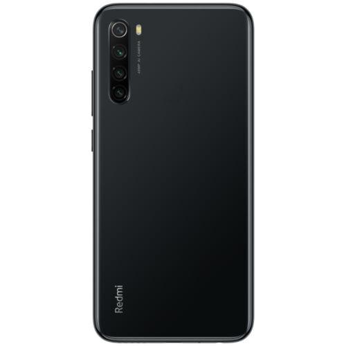 EU ECO Raktár - Xiaomi Redmi Note 8  6.3 inch 48MP Quad előlapi Kamera 4GB RAM 128GB ROM 4000mAh Snapdragon 665 Octa core 4G Okostelefon - Fekete