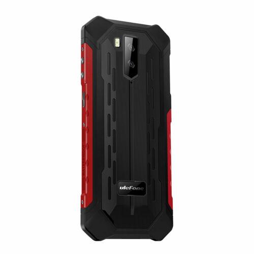 Ulefone Armor X5 5.5 Inch NFC IP68 IP69K Vízálló 3GB RAM 32GB ROM 5000mAh MT6762 Octa core 4G Okostelefon - Piros