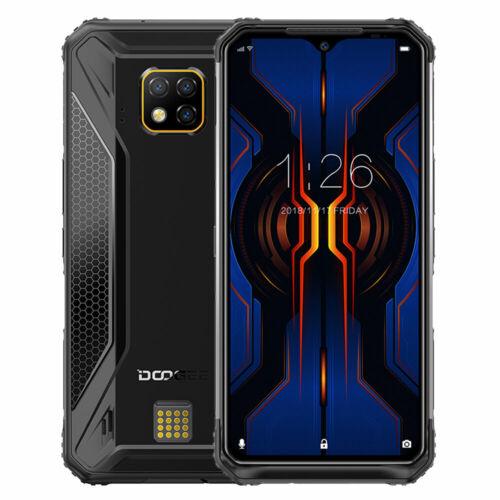 EU ECO Raktár - DOOGEE S95 Pro IP68 Vízálló 6.3 inch FHD+ NFC Android 9.0 5150mAh 48MP AI 8GB RAM 128GB ROM Helio P90 Octa Core 4G Okostelefon - Fekete