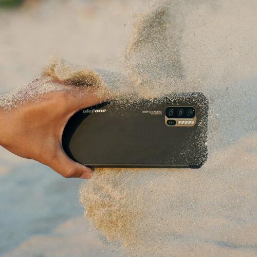 EU ECO Raktár - Ulefone Armor 7 IP68 IP69K Vízálló 6.3 inch 8GB RAM 128GB ROM 48MP Camera NFC Wireless Charge Helio P90 Octa Core 4G Okostelefon - Fekete