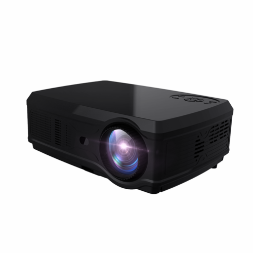 EU ECO Raktár - POWERFUL Full HD Projector SV-358 1920*1080P LED Android 7.1 2GB + 16GB Wifi Bluetooth Házimozi Projektor - Fehér