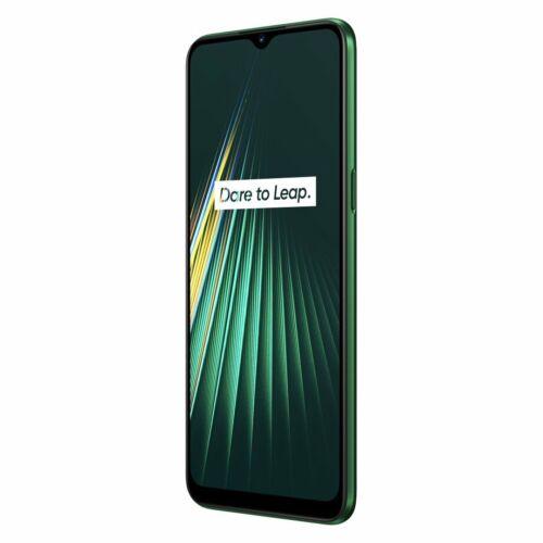 EU ECO Raktár - Realme 5i 6.5 inch Vízálló Android 9.0 12MP AI Quad előlapi 3-Card Shot 4GB RAM 64GB ROM Snapdragon 665 AIE 4G Okostelefon - Kék