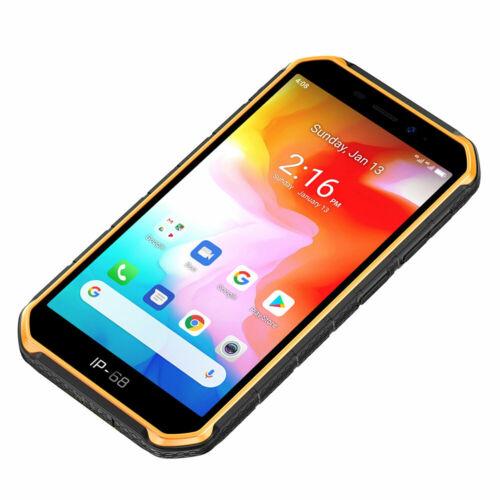 EU ECO Raktár - Ulefone Armor X7 5,0 hüvelykes NFC IP68 IP69K vízálló Android 10 2GB RAM 16GB ROM MT6761 Quad Core 4G okostelefon - Sárga