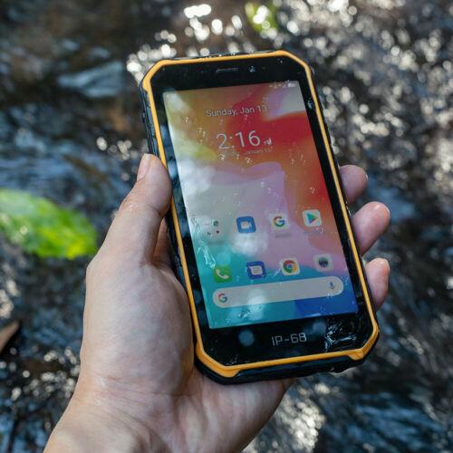 EU ECO Raktár - Ulefone Armor X7 5,0 hüvelykes NFC IP68 IP69K vízálló Android 10 2GB RAM 16GB ROM MT6761 Quad Core 4G okostelefon - Fekete