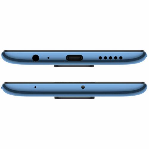 EU ECO Raktár - Xiaomi Redmi Note 9 Globális verzió 6.53 inch 48MP Quad Camera 4GB RAM 128GB ROM 5020mAh Helio G85 Octa core 4G Okostelefon - Ezüst