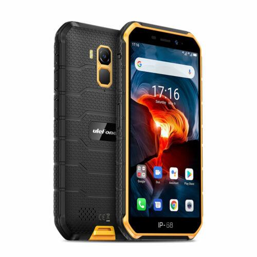 EU ECO Raktár - Ulefone Armor X7 Pro 5.0 inch NFC IP68 IP69K Vízálló Android 10 4GB RAM 32GB ROM MT6761 Quad Core 4G Okostelefon - Fekete