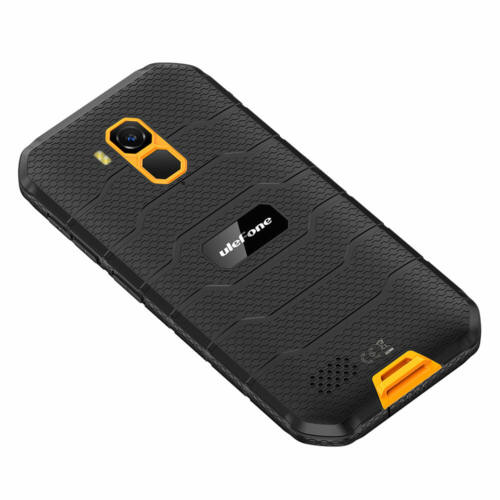 EU ECO Raktár - Ulefone Armor X7 Pro 5.0 inch NFC IP68 IP69K Vízálló Android 10 4GB RAM 32GB ROM MT6761 Quad Core 4G Okostelefon - Narancs