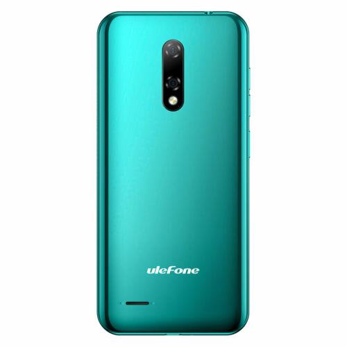 EU ECO Raktár - Ulefone Note 8P 5.5 inch Android 10 Dual előlapi Camera 2GB RAM 16GB ROM MT6737 Quad core 4G Okostelefon - Fekete