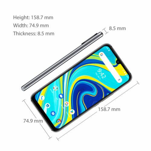EU ECO Raktár - UMIDIGI A7 Pro 6.3 inch FHD+ Android 10 4150mAh 16MP AI Quad Camera 4GB RAM 64GB ROM Helio P23 4G Okostelefon - Kék