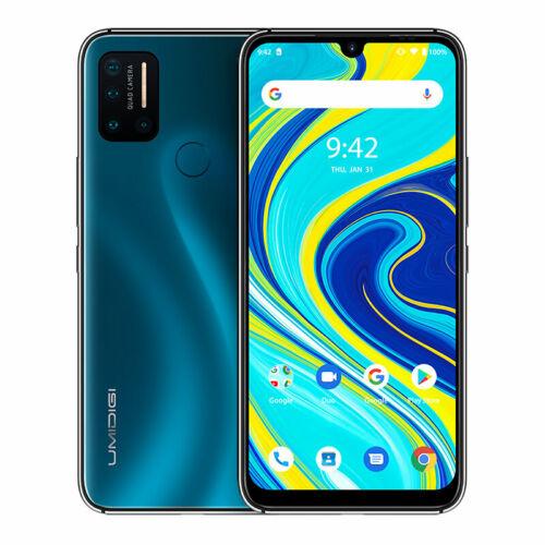 EU ECO Raktár - UMIDIGI A7 Pro 6.3 inch FHD+ Android 10 4150mAh 16MP AI Quad Camera 4GB RAM 128GB ROM Helio P23 4G Okostelefon - Kék