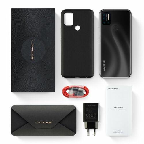 EU ECO Raktár - UMIDIGI A7 Pro 6.3 inch FHD+ Android 10 4150mAh 16MP AI Quad Camera 4GB RAM 128GB ROM Helio P23 4G Okostelefon - Fekete