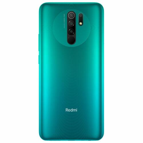 EU ECO Raktár - Xiaomi Redmi 9 6.53 inch Quad előlapi Kamera 3GB RAM 32GB ROM 5020mAh Helio G80 Octa core 4G Okostelefon - Lila