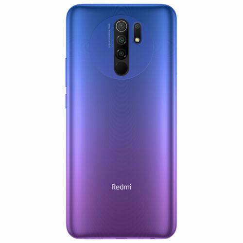 EU ECO Raktár - Xiaomi Redmi 9 6.53 inch Quad előlapi Kamera 3GB RAM 32GB ROM 5020mAh Helio G80 Octa core 4G Okostelefon - Szürke