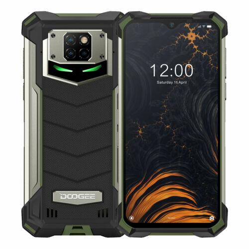 EU ECO Raktár - DOOGEE S88 Pro Globális verzió 6.3 inch FHD+ IP68/IP69K Vízálló NFC 10000mAh Android 10 6GB RAM 128GB ROM Helio P70 4G Smartphone - Zöld