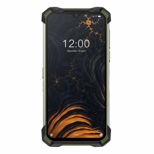 EU ECO Raktár - DOOGEE S88 Pro Globális verzió 6.3 inch FHD+ IP68/IP69K Vízálló NFC 10000mAh Android 10 6GB RAM 128GB ROM Helio P70 4G Smartphone - Narancs