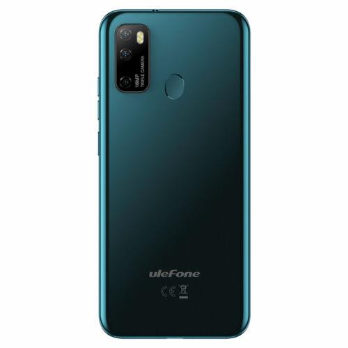 EU ECO Raktár - Ulefone Note 9P 6.52 inch 16MP Android 10 4GB RAM 64GB ROM MTK MT6762 Octa Core 4G Okostelefon - Kék