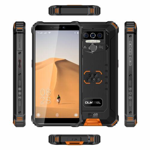 EU ECO Raktár - OUKITEL WP5 5.5 inch IP68 Vízálló 8000mAh Android 10 13MP Triple Camera 4GB RAM 32GB ROM MT6761 4G Okostelefon - Fekete