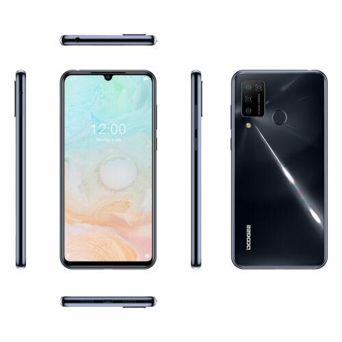 EU ECO Raktár - DOOGEE N20 Pro  6.3 inch FHD+ 6GB RAM 128GB ROM Helio P60 Android 10 4400mAh 16MP  Octa Core 4G Okostelefon - Lila