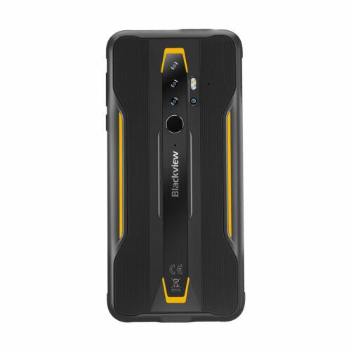 EU ECO Raktár - Blackview BV6300 Pro Globális Bands IP68/IP69K Vízálló 5.7 inch NFC 4380mAh Android 10 16MP Quad Camera 6GB 128GB Helio P70 Octa Core 4G Okostelefon - Sárga