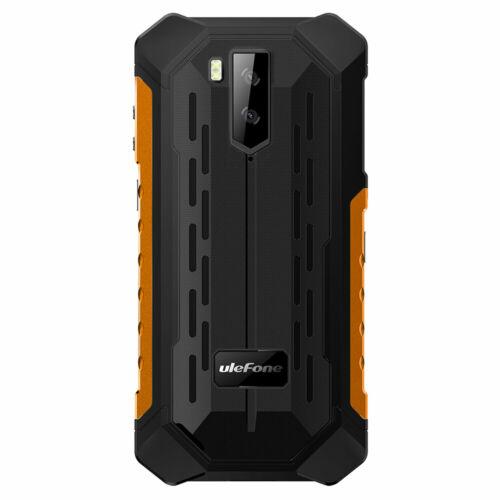 EU ECO Raktár - Ulefone Armor X5 Pro 5.5 Inch NFC IP68 IP69K Vízálló 4GB RAM 64GB ROM 5000mAh MT6762 Octa Core 4G Okostelefon - Fekete