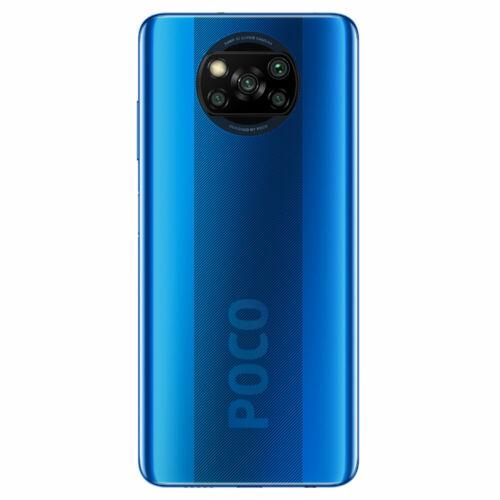 EU ECO Raktár - POCO X3 NFC Snapdragon 732G 6GB RAM 128GB ROM 6.67 inch 120Hz Refresh Rate 64MP Quad Camera 5160mAh Octa Core 4G Okostelefon - Kék