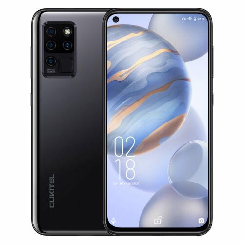 EU ECO Raktár - OUKITEL C21 6.4 inch FHD+ 4000mAh Android 10 20MP Front Camera 4GB RAM 64GB ROM Helio P60 4G Okostelefon - Lila