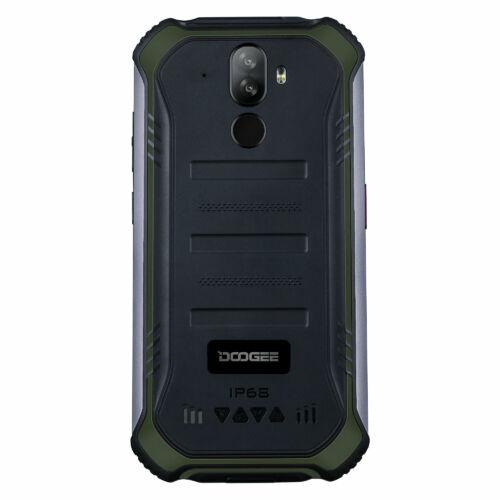 EU ECO Raktár - DOOGEE S40 Pro 5.45 inch IP68/IP69K Vízálló NFC Android 10.0 4650mAh 13MP Dual előlapi Camera 4GB RAM 64GB ROM Helio A25 4G Okostelefon - Zöld