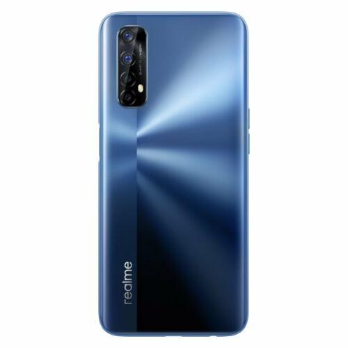 EU ECO Raktár - Realme 7 6.5 inch FHD+ 90Hz  Helio G95 Gaming Processor NFC 5000mA 8GB RAM 128GB ROM 64MP Quad Camera Octa Core 4G Okostelefon - Kék