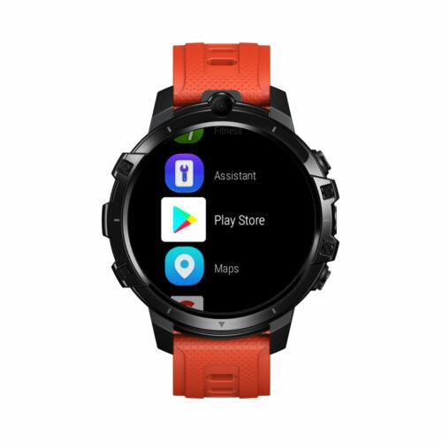 EU ECO Raktár - Zeblaze THOR 6 Vezetéknélküli Android 10 Sporttevékenységmérő 4G Okos Karóramobil - Fekete