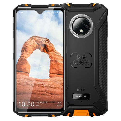 EU ECO Raktár - OUKITEL WP8 Pro IP68IP69K Vízálló NFC Android 10 5000mAh 6.49 inch 16MP 4GB RAM 64GB ROM MT6762D 4G Okostelefon - Narancs