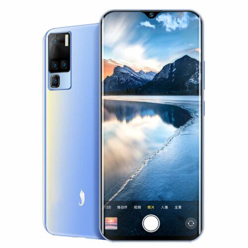 EU ECO Raktár - iLA X50 Pro 6.5 inch 8GB RAM 128GB ROM MTK MT6771 Octa Core 4G Okostelefon - Kék