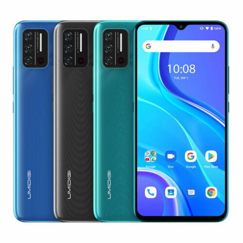 EU ECO Raktár - UMIDIGI A7S Android 10 Go 6.53 inch HD+ 13MP AI Quad Camera 2GB RAM 32GB ROM MT6737  4G Okostelefon - Zöld