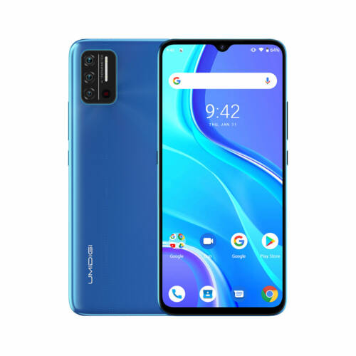 EU ECO Raktár - UMIDIGI A7S Android 10 Go 6.53 inch HD+ 13MP AI Quad Camera 2GB RAM 32GB ROM MT6737 4G Okostelefon - Kék