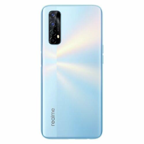 EU ECO Raktár - Realme 7 RMX2155 6.5 inch FHD+ 90Hz Helio G95 Gaming Processor NFC 5000mA 30W 6GB RAM 64GB ROM 48MP AI Quad Camera Octa Core 4G Okostelefon - Fehér