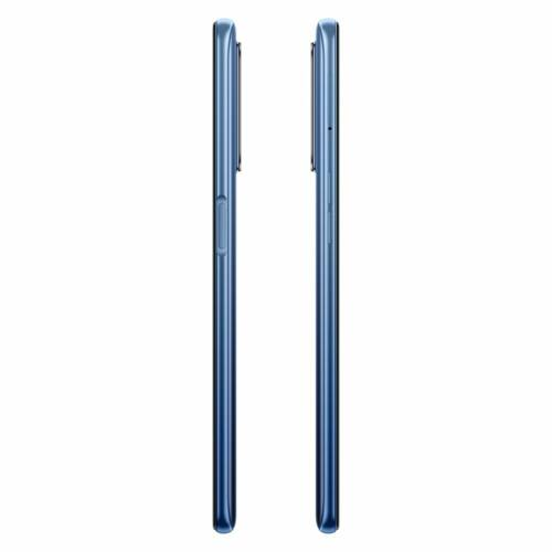 EU ECO Raktár - Realme 7 RMX2155 6.5 inch FHD+ 90Hz Helio G95 Gaming Processor NFC 5000mA 30W 6GB RAM 64GB ROM 48MP AI Quad Camera Octa Core 4G Okostelefon - Kék