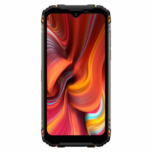 DOOGEE S96 Pro IP68 IPIP69K Vízálló 8GB RAM 128GB ROM Helio G90 NFC Android 10 6350mAh 6.22 inch 48MP Round Quad Camera 20MP Infrared Night Vision 4G Okostelefon - Narancs
