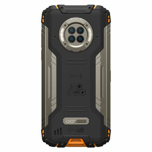 DOOGEE S96 Pro IP68 IPIP69K Vízálló 8GB RAM 128GB ROM Helio G90 NFC Android 10 6350mAh 6.22 inch 48MP Round Quad Camera 20MP Infrared Night Vision 4G Okostelefon - Fekete
