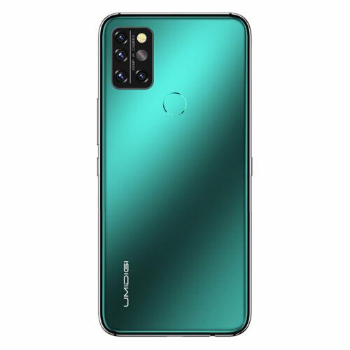 EU ECO Raktár -UMIDIGI A9 Pro 6.3 inch FHD+ 6GB RAM 128GB ROM Helio P60 Android 10 4150mAh 48MP AI Matrix Quad Camera 4G Okostelefon - Zöld