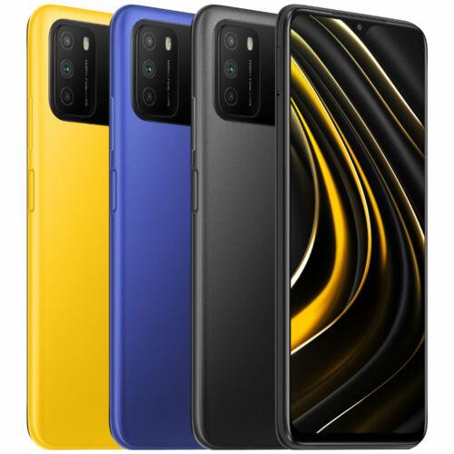 EU ECO Raktár - POCO M3 Globális verzió 48MP Triple Camera 6000mAh 6.53 inch 4GB RAM 64GB ROM Snapdragon 662 Octa Core 4G Okostelefon - Sárga